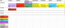 Easy Content Scheduling for Bloggers