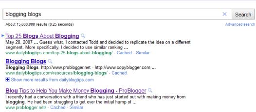 blogging blogs search