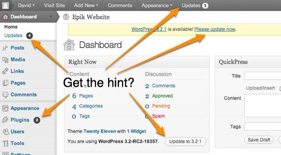 Take 5 Minutes to Make WordPress 10 Times More Secure