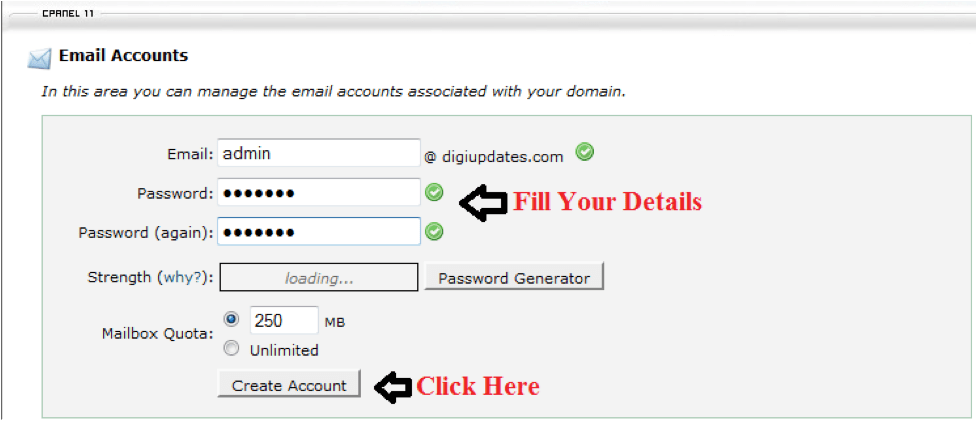 free email accounts with your domain