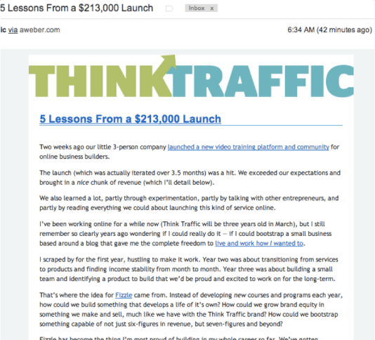 Email for Think Traffic
