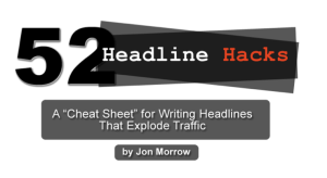Jon Morrow Headline Hacks
