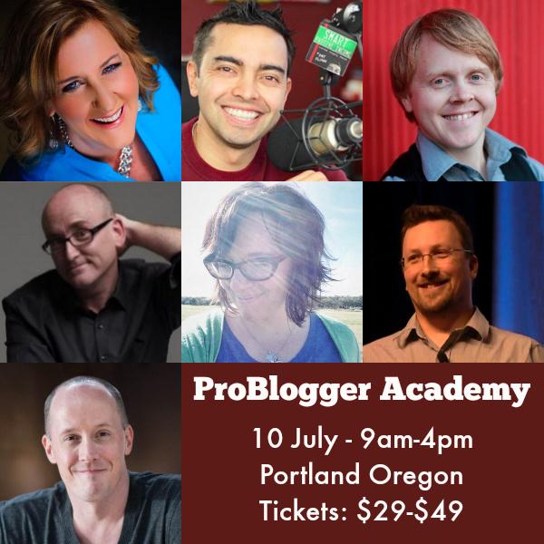 Problogger academy