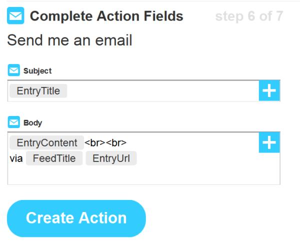 IFTTT Step 6