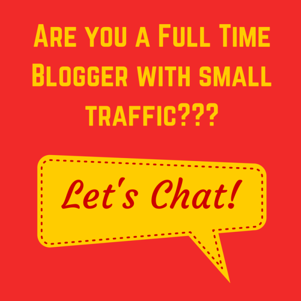 Are you a Full Time Blogger-