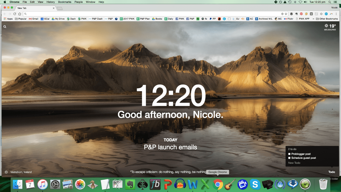 Setting up your browser to boost your productivity | ProBlogger