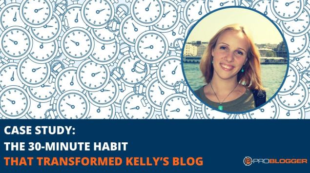 30-minute blogging habit