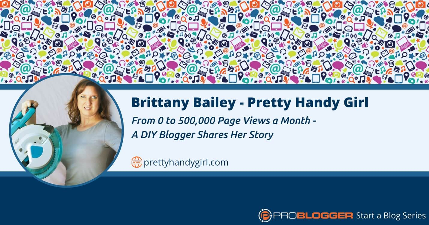 221: From 0 to 500,000 Page Views a Month - A DIY Blogger