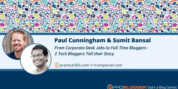 How Two Tech Bloggers Started Their Blogs