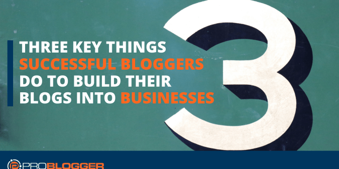 turning blogs into businesses