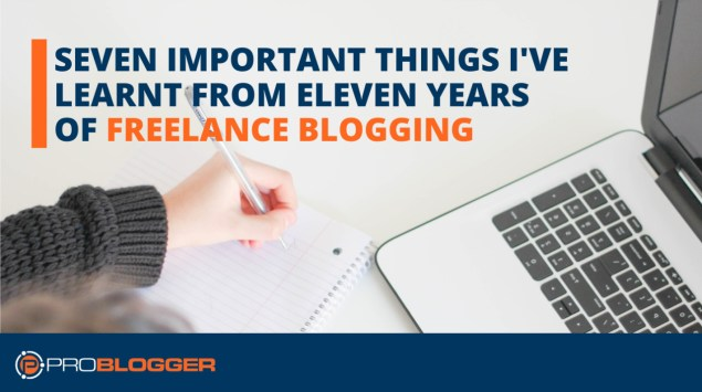 Lessons learnt from freelance blogging