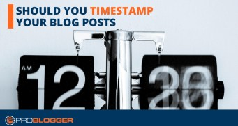 Should you timestamp your blog posts?