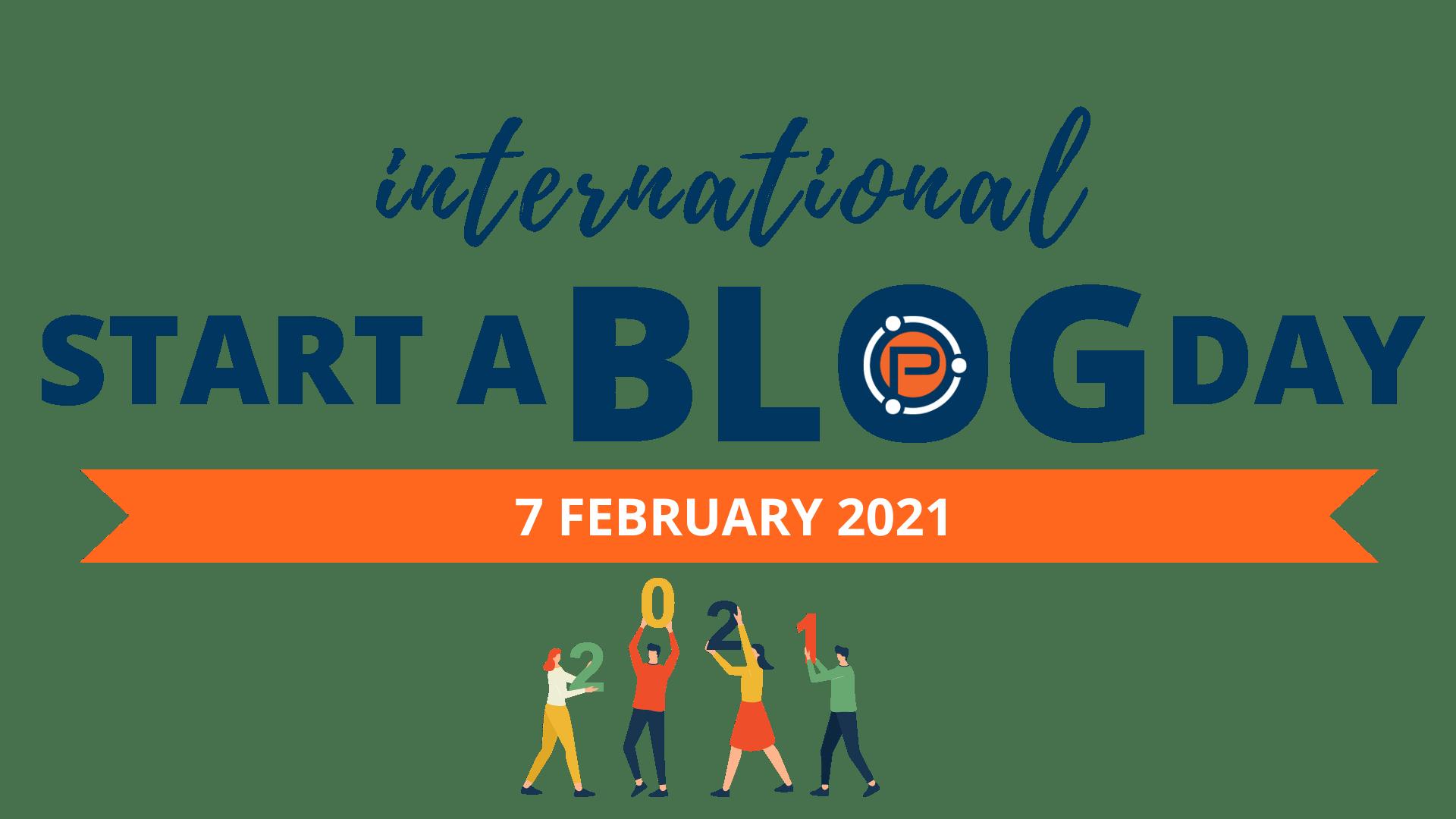 International Start a Blog Day 2021