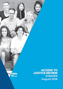 Victorian Access to Justice Review
