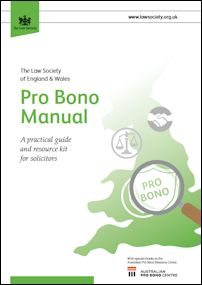Law Society of England & Wales Pro Bono Manual