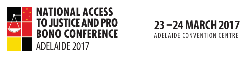 National Access to Justice and Pro  Bono Conference 2016
