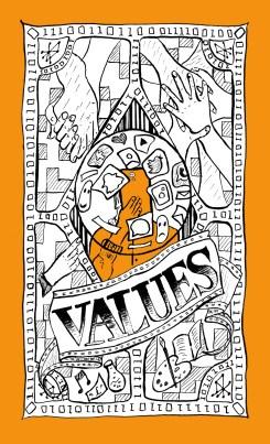UnBias Awareness Cards – Values Suit Illustration