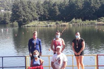 Sportivii de la CSM Brăila au obținut 8 medalii la campionatele naționale de kaiac-canoe viteză