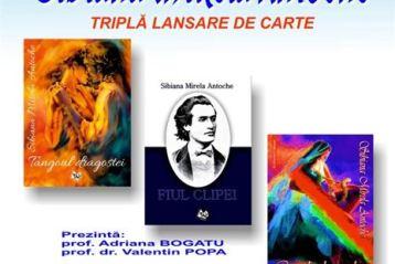 Triplă lansare de carte în Sala Pro Arte