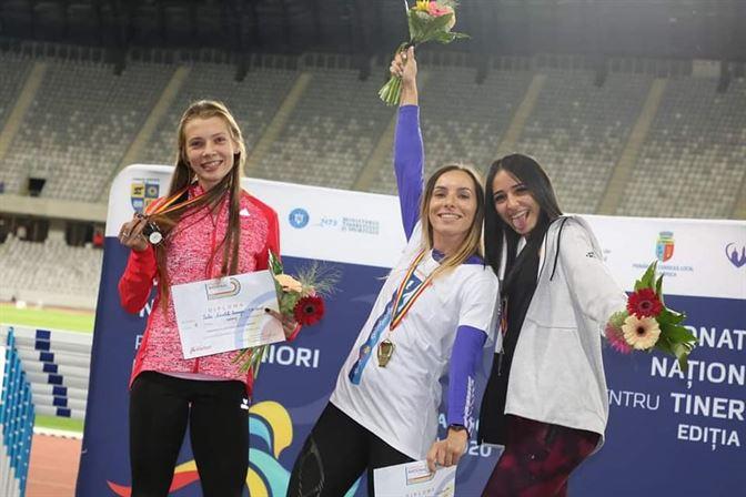 Opt medalii cucerite de atleți brăileni la naționalele de atletism pentru seniori și tineret