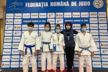 Judoka Maria Naidin vicecampioană națională la U21