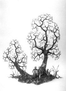 Lebensbaum von Mann und Frau