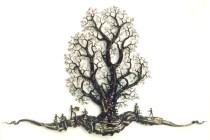 Spielen unter dem Baum