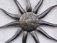 Sonnen Skulptur Höhe 1.8 m