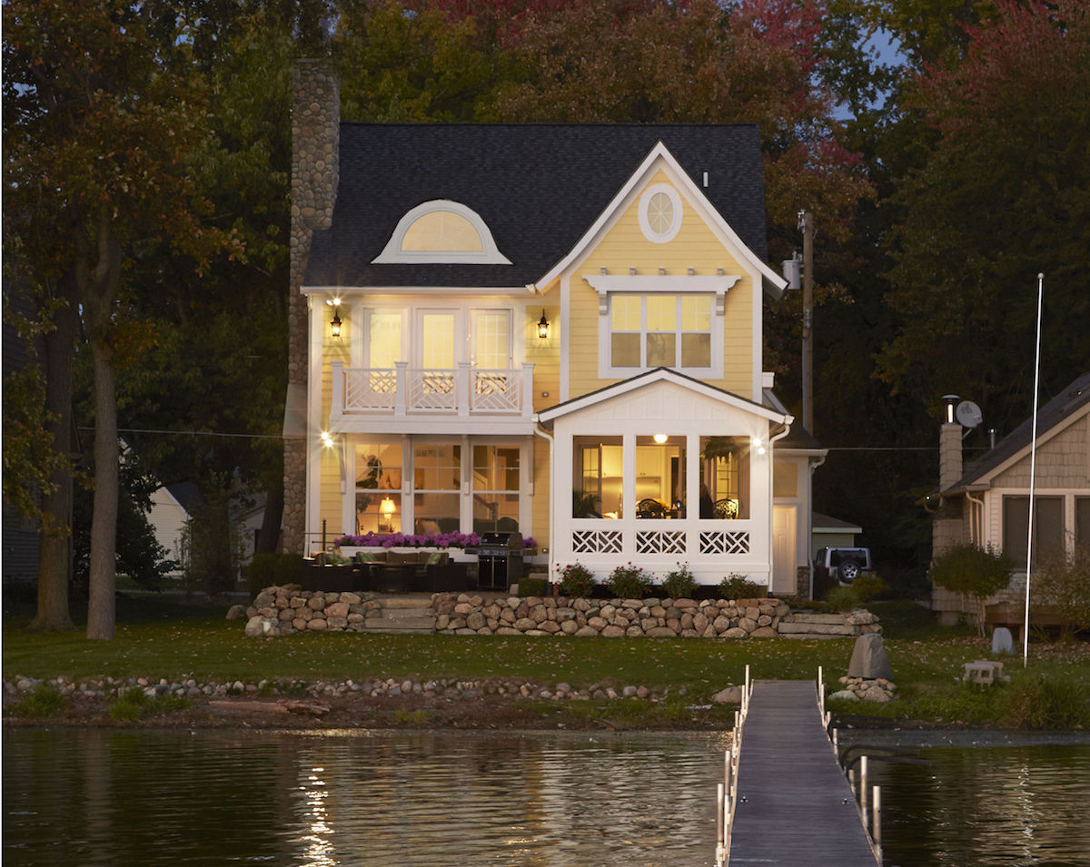 Waterfront Home Plans Michigan