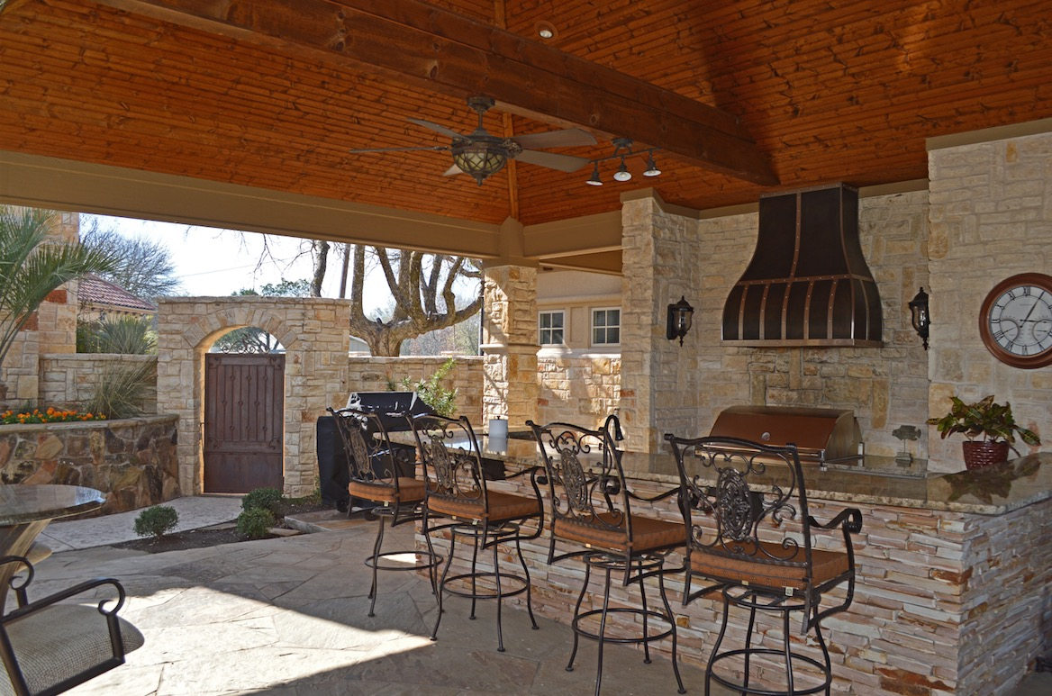 House Review | Outdoor Living Spaces | Professional Builder on Small Backyard Living Spaces  id=32453