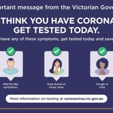 COVID-19 – Why are Victorians being encouraged to get tested?