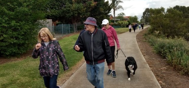 Putting our toe back in the water – Walking Group restarts