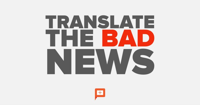 positive news from bad news