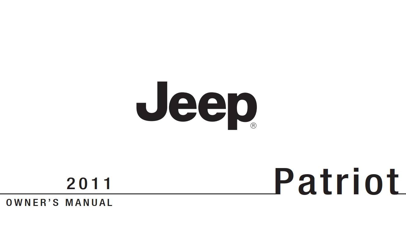 Jeep Patriot Owner S Manual Download