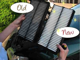 Old-new-Air filter