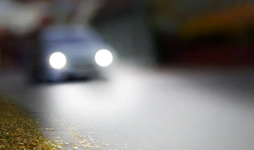 Car Headlights Alignment Checking