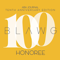 10th Annual Blawg 100
