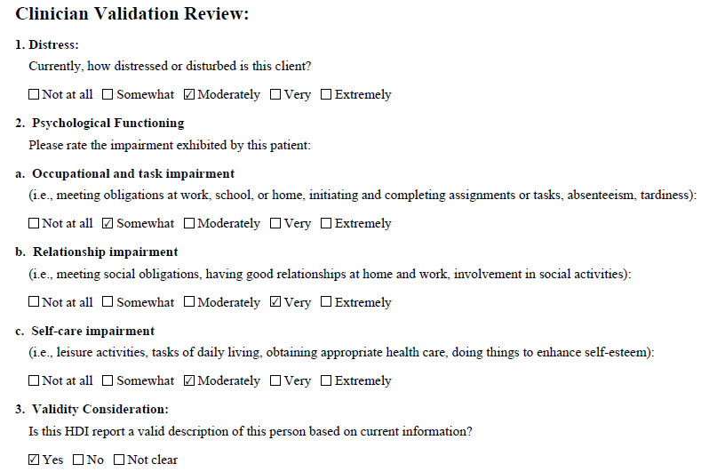 validation review