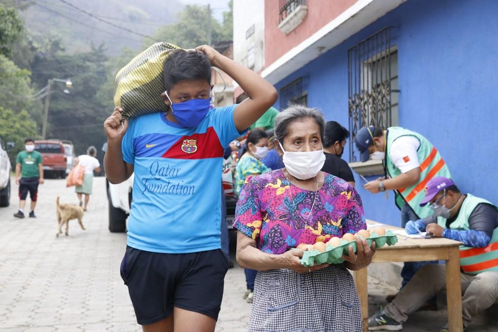 Ayuda de emergencia en La Antigua Guatemala