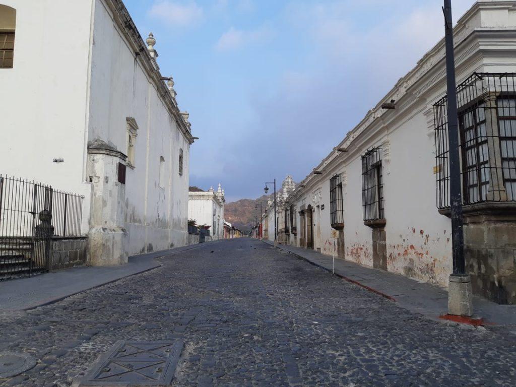 El covid-19 ha dejado sin turistas a La Antigua Guatemala