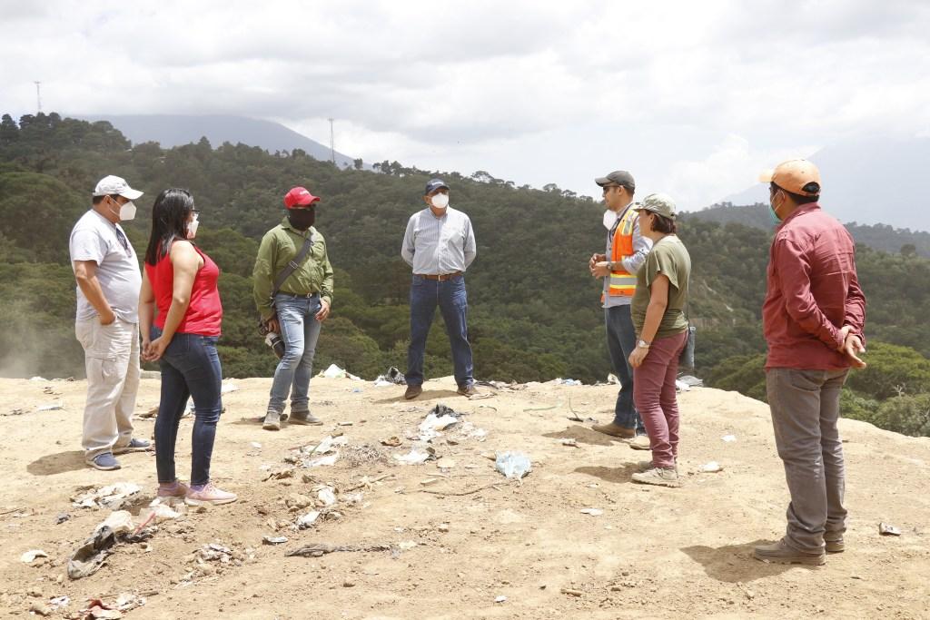 Concejo de Antigua Guatemala visita El Choconal