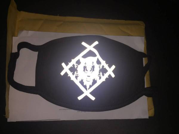 Xavier Wulf / Hollow Squad Reflective Hollowsquad Mask (1 ...