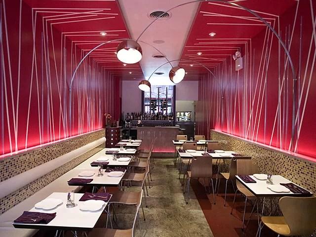 ديكورات المطاعم لعام 2021