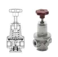 Reducerventiler (Diaphragm Sensing, Balanced Valve PRV 30SS) Image