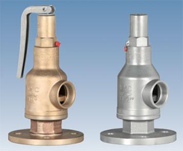 Säkerhetsventiler (Safety valve with spring loading Model 096) Image