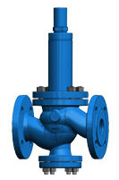 Safety overflow valve T27 without auxiliary power, for liquids and gas Image