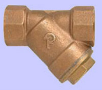 Strainer PN 20, Y-type with screwed ends and drain plug, 30 Bar Image