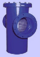 PN 10 T-type welded construction, with flanged ends and drain-plug 1/2 Image