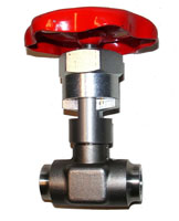 Nålventil Pn250 max temp 450C inv ansl. SS2383 Image