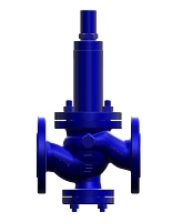Safety overflow valve T27 F without auxiliary power, for liquids and gas Image